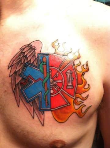 tatuajes de la estrella de la vida profesiones