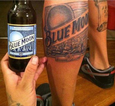 tatuajes de botellas de cerveza etiquetas