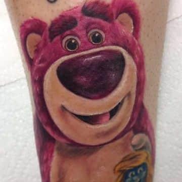 tatuajes de osos de peluche personaje animado conocido