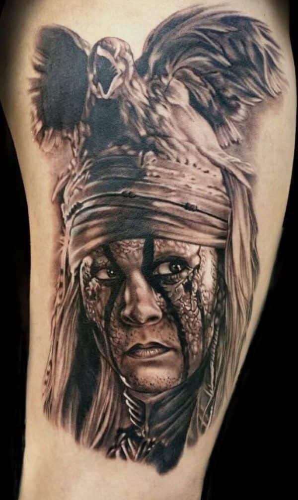 tatuajes de indios americanos de peliculas