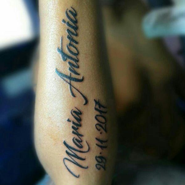 tatuajes con el nombre de maria con fecha