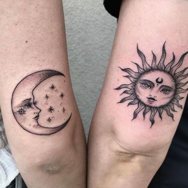 tatuajes para hacerse con hermanos con los astros