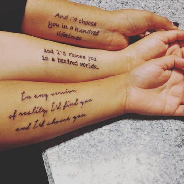 tatuajes para hacerse con hermanos de frases