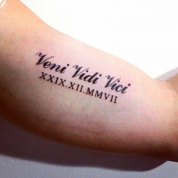 palabras bonitas para tatuarse con numeros