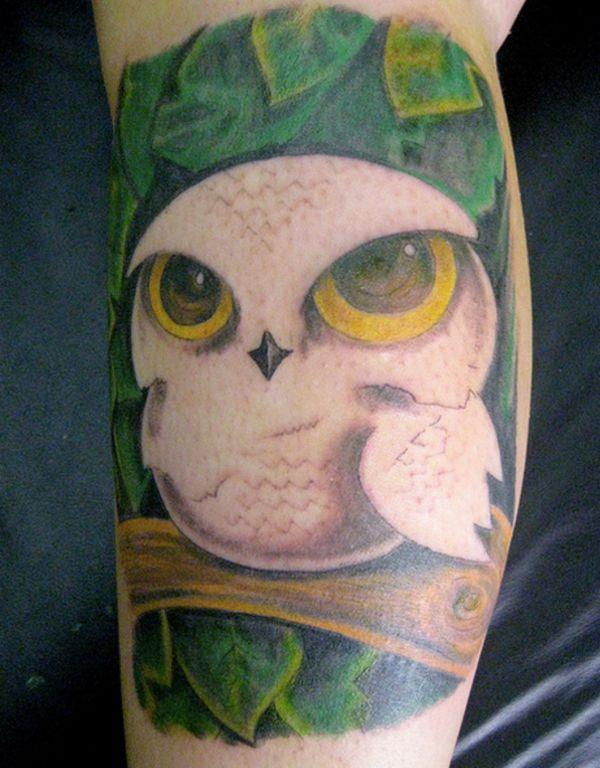 significado de tatuaje de buho nueva escuela