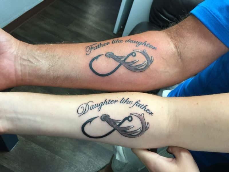 tatuajes de papa y hija simbolos