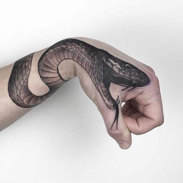 significado de tatuaje de serpiente excelentes efectos visuales