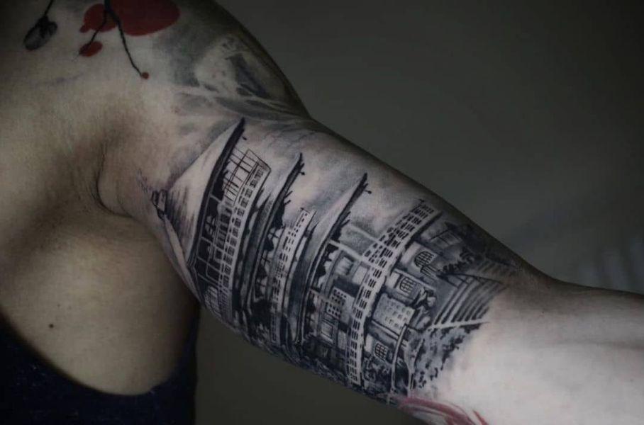tatuajes en el biceps para hombres detalles