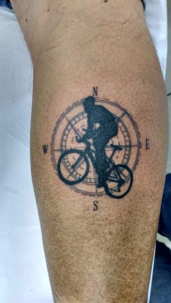 tatuajes de bicicletas mtb idea conceptual