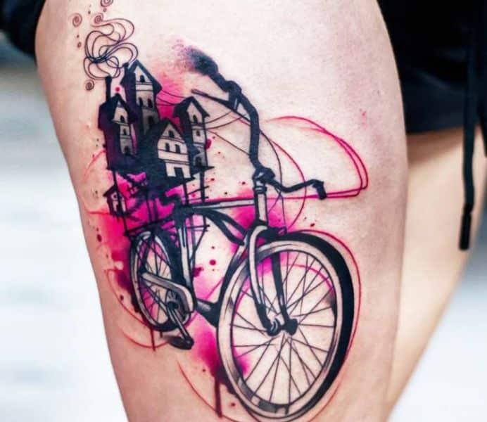 tatuajes de bikers para hombres con profundidad