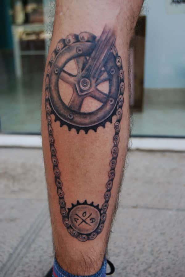 tatuajes de bikers para hombres mecanico