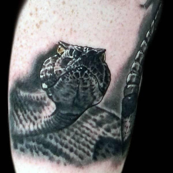 tatuajes de viboras de cascabel perspectivas