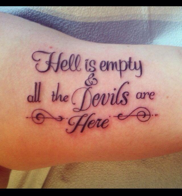 tatuajes con frases en ingles en brazo